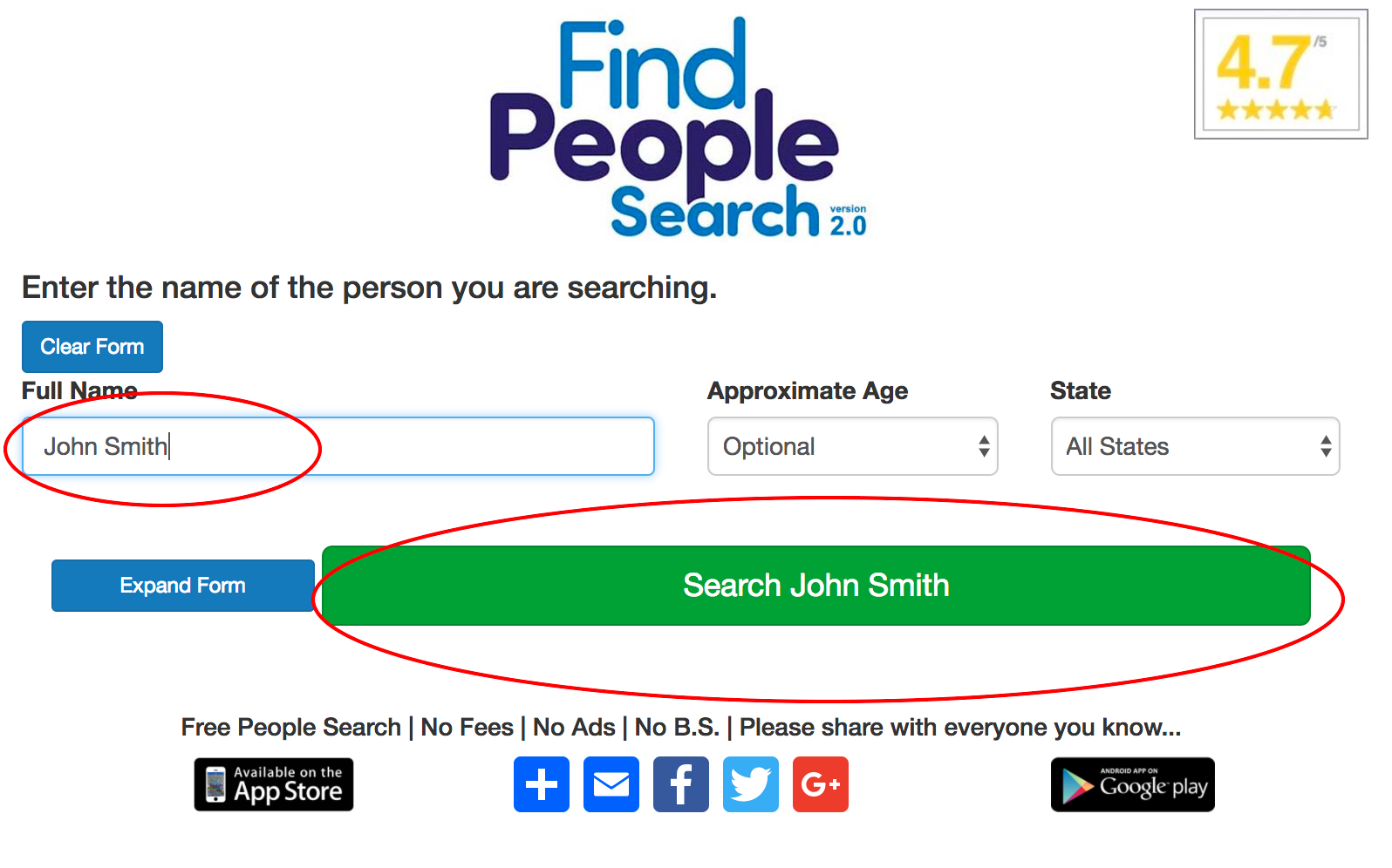 People search age